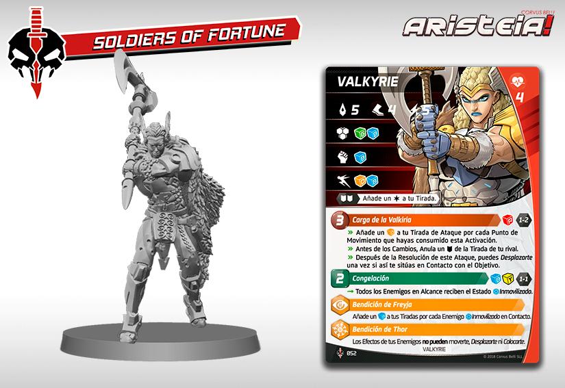 Valkirie perfil Aristeia Infinity